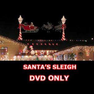 VIRTUAL SANTA SLEIGH DVD